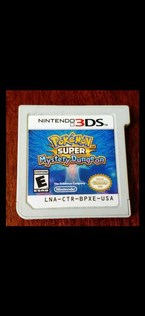 NINTENDO 3DS POKEMON SUPER MYSTERY DUNGEON FOR ONLY 15$$!! 100%💥💥 for Sale in Escondido, CA