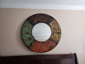 Wall decor with mirror. for Sale in Corona, CA