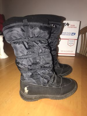 Brand new Ralph Lauren girls polo boots for Sale in Virginia Beach, VA