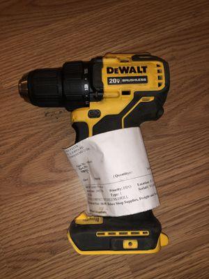 "Manufacturer refurbished Dewalt 20v Max Brushless 1/2"" drill driver (tool only) for Sale in Odessa, TX"