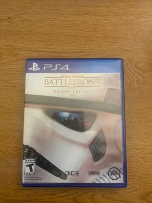 Star Wars Battlefront Deluxe Addition PS4 for Sale in Columbus, OH