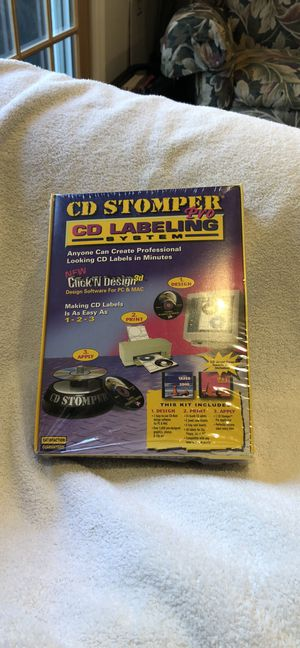 CD Stomper Pro CD Labeling System for Sale in Smithtown, NY