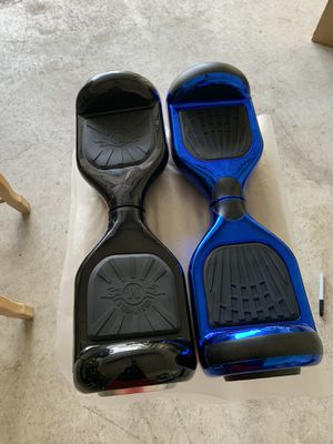 2 Bluetooth self balancing hoverboard.+ caring bag for Sale in Richmond, TX