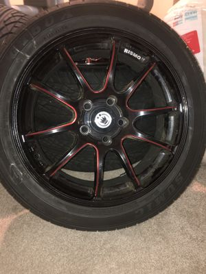 """Maserati 17"""" wheels and tires for Sale in Lawrenceville, GA"""