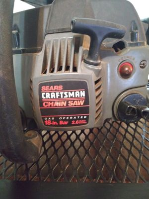 Craftsman chainsaw for Sale in San Antonio, TX