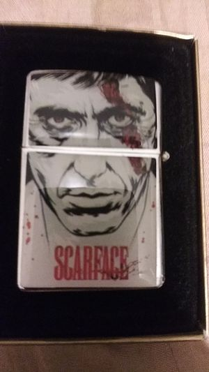 High quality ZIPPO Replica Scarface two-sided for Sale in Croydon, PA