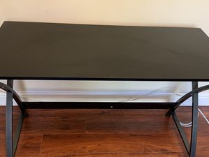 Black office desk for Sale in Palo Alto, CA