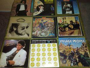 Elton John, elvis Presley, village people records for Sale in Las Vegas, NV