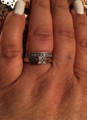 White gold wedding ring for Sale in Phoenix, AZ