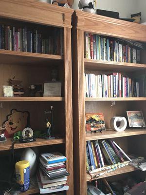 Oak Wood bookshelves for Sale in Bloomington, IL