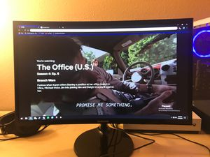 Samsung 24 inch curved LED monitor for Sale in Mukilteo, WA