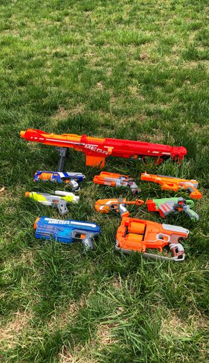 Nerf guns OrBestOffer for Sale in Rocky Mount, VA