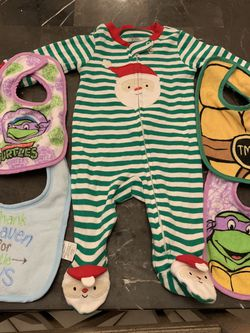 Baby Boys Snow Suits New And Pjs Plus Pants And Bibs for Sale in Deerfield Beach,  FL