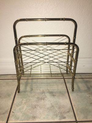 Brass Magazine Rack for Sale in Mesa, AZ