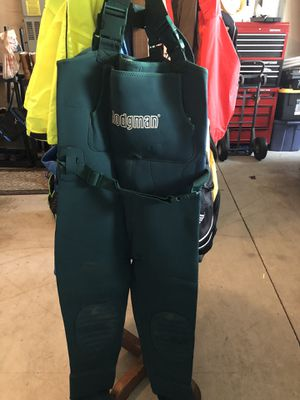Hodgman Neoprene waders (Adult M/L): As new for Sale in Vancouver, WA