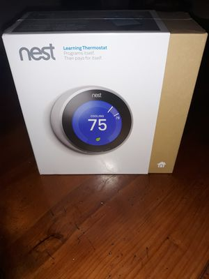 New Unopened Google Nest Thermostat for Sale in Richardson, TX