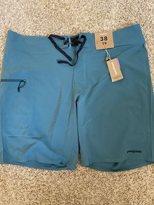 "PATAGONIA MEN'S STRETCH PLANING BOARDSHORTS - 19"" for Sale in La Habra Heights, CA"