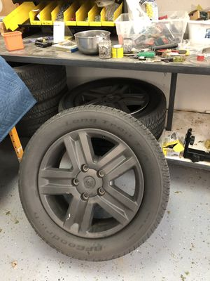 "20"" Toyota tires and rims. for Sale in San Diego, CA"