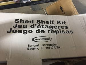 Suncast Shed Shelf Kit, NIB. Have 2. for Sale in Columbus, OH