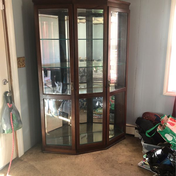 Cabinet With Working Lights !! MOVING !!!! NEED GONE*