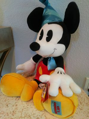 Disneys Mickey mouse Limited edition plush doll for Sale in Winter Haven, FL