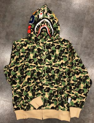 Bape hoodie green size XL and L for Sale in Glendale, CA