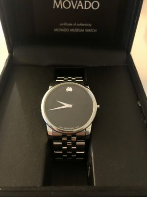 Movado Men's Museum Classic watch, 40 mm stainless steel case for Sale in Arlington, VA