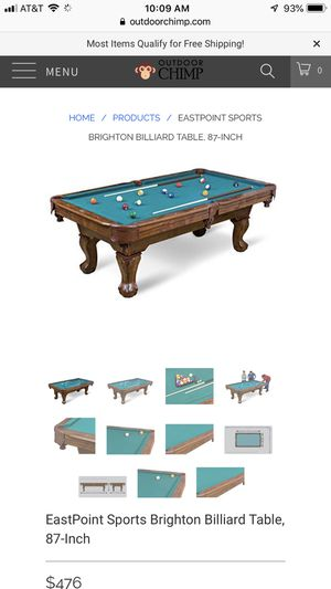 Pool table for Sale in Pompano Beach, FL
