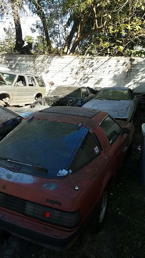 Mazda RX7 parts for sale let me know what you need I'll give you a price for Sale in Tampa, FL