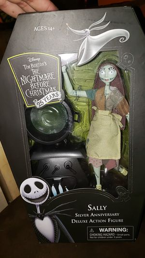 Nightmare Before Christmas Sally Silver Anniversary Figure for Sale in Manor, TX