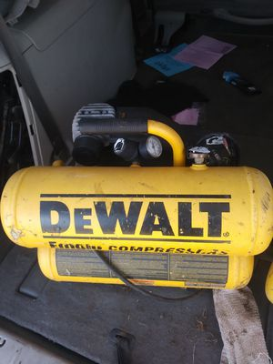 DEWALT 1.2 HP, 115 Portable Electric Air Compressor for Sale in Sweet Home, OR
