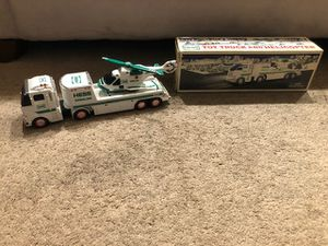 2006 Hess Toy Truck and Helicopter with Original Box for Sale in Philadelphia, PA