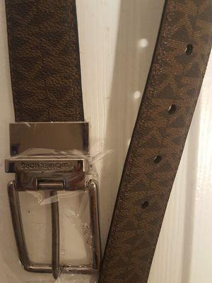 NEW Michael Kors Dress Belt Brown/Black for Sale in Norwalk, CA