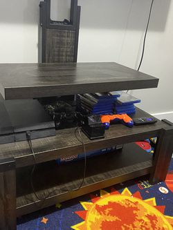 Grey Weathered Tv Stand for Sale in Newark,  NJ