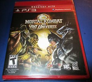 Mk vs dc ps3 for Sale in San Diego, CA