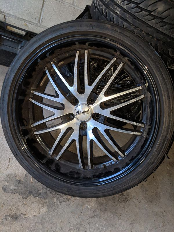 18inch chrome rims and 20inch rims