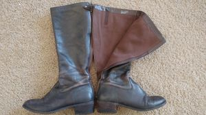 Womens leather boots size 7 for Sale in Nashville, TN