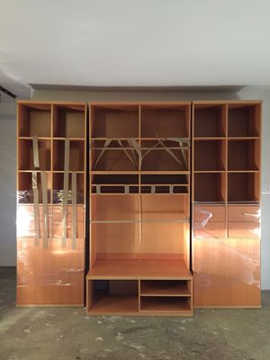 Wall Unit and TV + Entertainment Cabinet for Sale in Fort Washington, MD