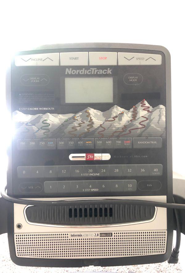 NordiTrack incline trainer treadmill