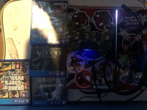 Ps4 with Mic and games for Sale in Apollo, PA