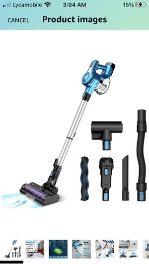 Cordless Vacuum wireless Vacuum Cleaner, 23Kpa 250W Brushless Motor Stick Vacume for Sale in Philadelphia, PA