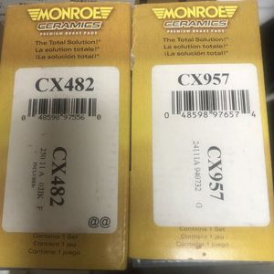 Brand New Monroe Ceramic Front And Rear Brake Pads For 03-05 Mazda for Sale in Morristown, NJ