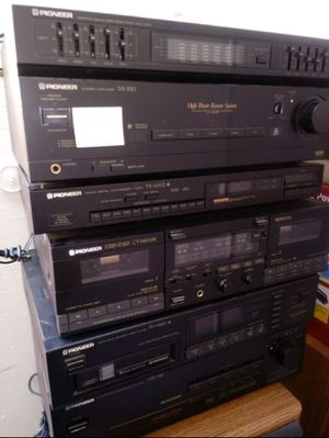 Pioneer Stereo system Vintage for Sale in San Francisco, CA