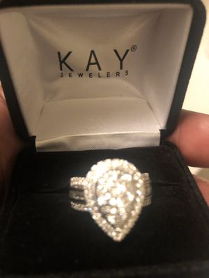 2k Diamond wedding ring for Sale in Baltimore, MD