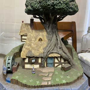 Disney Sleeping Beauty Woodcutter Cottage Statue for Sale in Anaheim, CA