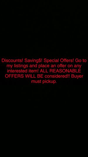 DISCOUNTS! SAVING$! SPECIAL OFFERS! for Sale in Rockville, MD