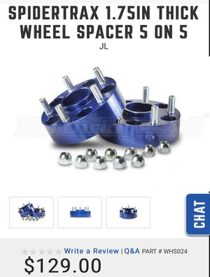 spidertrax jl 1.75 wheel spacers for Sale in Los Angeles, CA