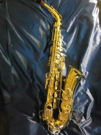 Selmer Bundy II Student Alto Saxophone with mouth piece - $335