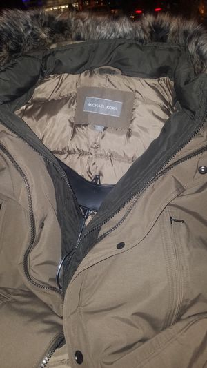 Michael Kors Mens Faux Fur jacket for Sale in Denver, CO