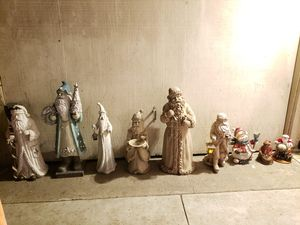 Santa claus Christmas decorations for Sale in Garden Grove, CA